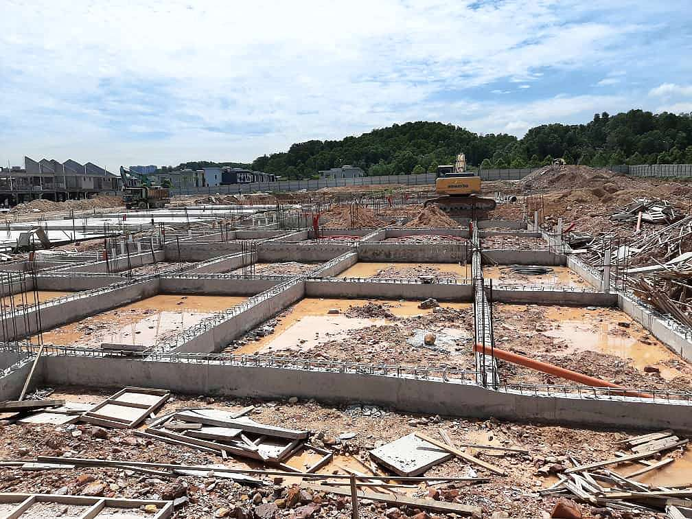 BLOCK 9 – GROUND BEAM COMPLETED